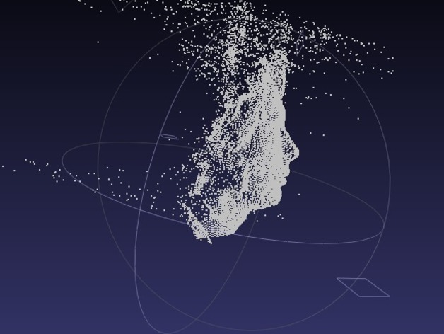 Thom Yorke's point cloud data (from House of Cards)