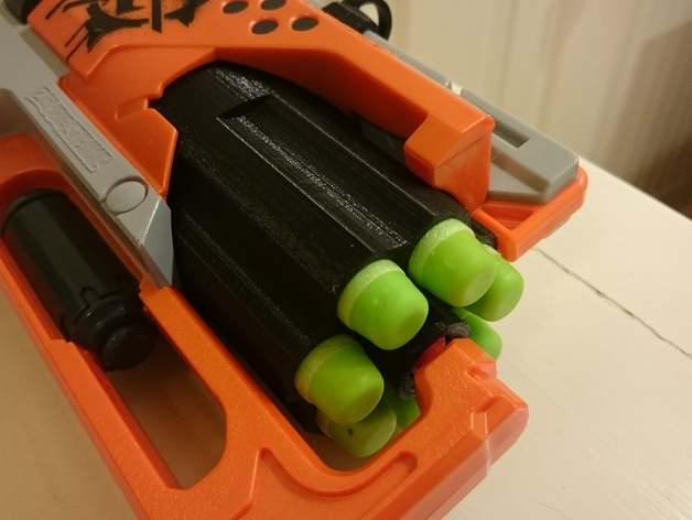 Modded barrel - Nerf Blaster