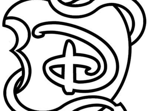 Dibujos Para Colorear De Los Descendientes Disney: Descendientes Cookie Cutter By Marcos_1984