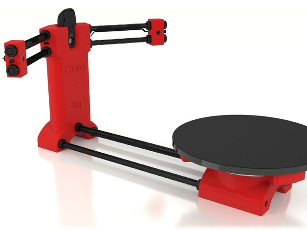 Hervorragend Fabrication d'un Scanner 3d Le ciclop de chez BQ | Fyx-Addict3D CD99