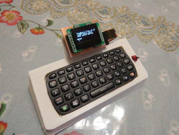 Base station of really tiny tinybasic computer by arduino