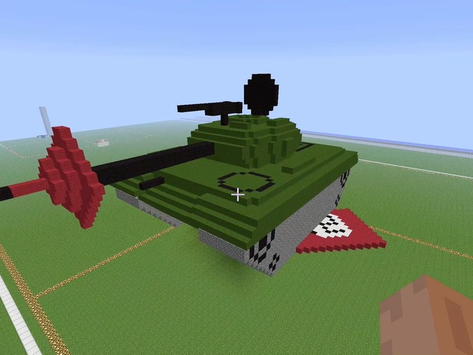 minecraft army tank by hmustard - Thingiverse