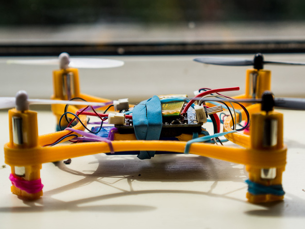 Micro Cloud Copter: Customizable Quadcopter Tricopter Hexacopter Octocopter Multirotor!