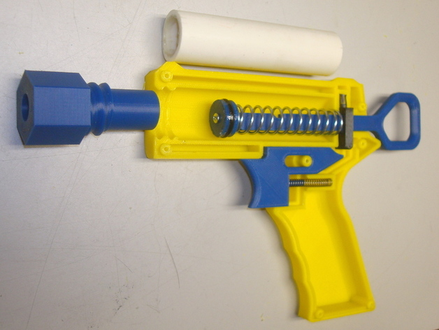 LF1 - Foam Dart Blaster (NERF Compatible) by Landru, published May 8, 2012 - Nerf Blaster