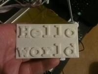 3D Hello World!