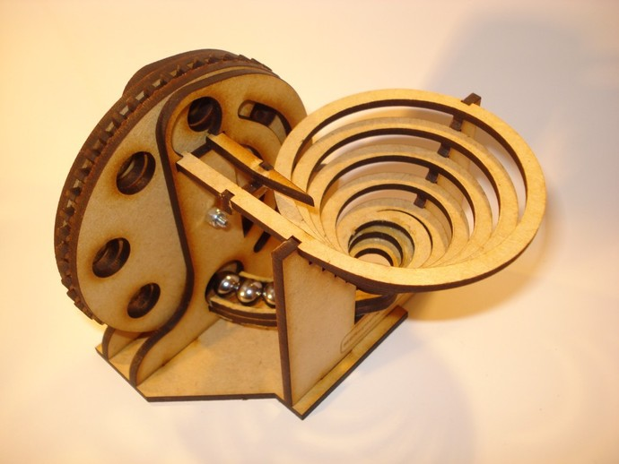 Marble Machine 1 By Msraynsford Thingiverse
