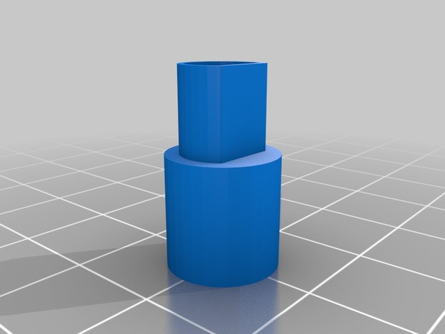 replacement knob for m audio icontrol garageband controller by pawarmy thingiverse. Black Bedroom Furniture Sets. Home Design Ideas