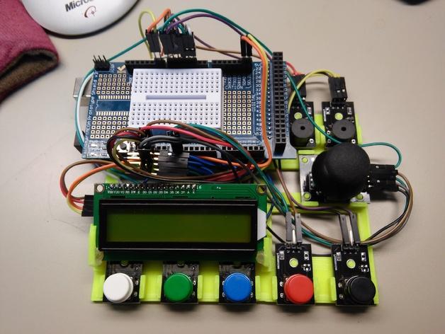 Arduino MEGA prototyping base