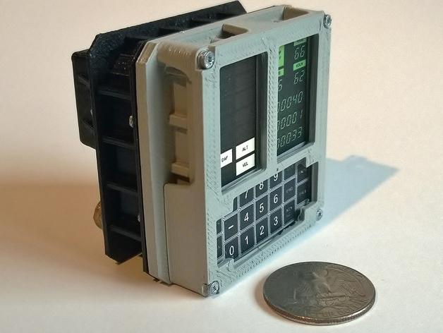 Mini Apollo Guidance Computer DSKY Module
