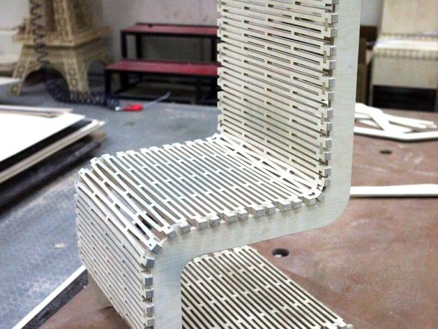 Fiber Laser Cutting Stainless Steel Living Hinge Patterns