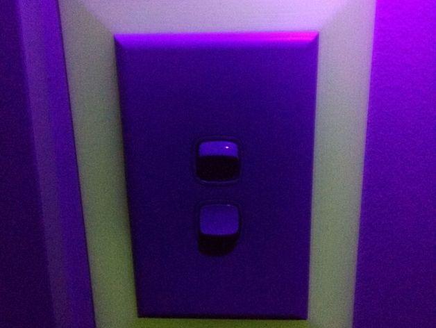 Glow Light Switch Surround Hpm Brand Australia By Diarx