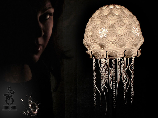 Jellyfish Lampshade By Unellenu Thingiverse