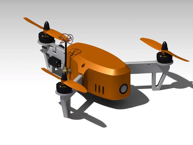 Mini FPV Tricopter