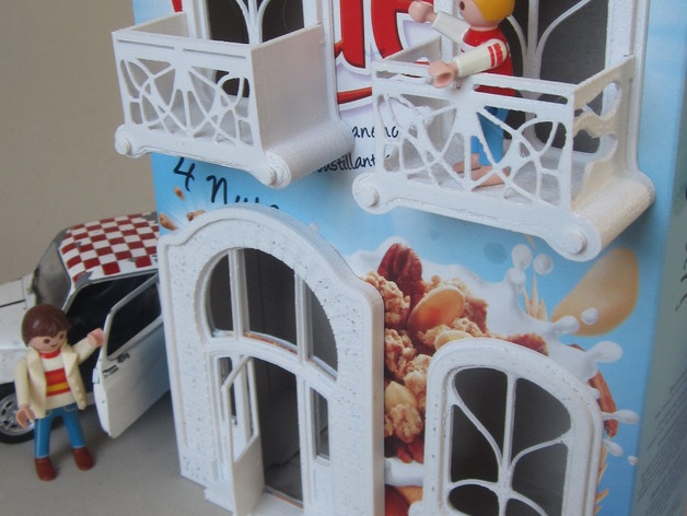 Cereal Box Art Nouveau House By Piedro78 Thingiverse