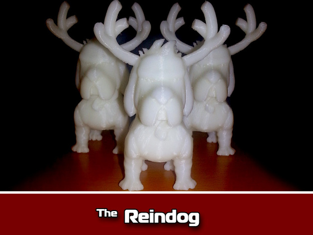 Reindog Ornament