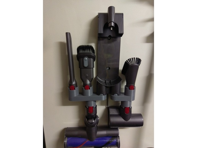 Dyson V8 Accessory Holders By Hcooh Thingiverse