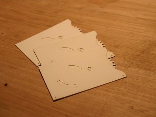 Geared cards