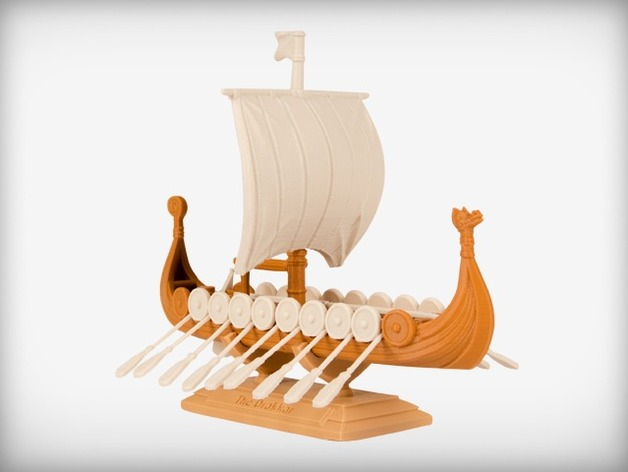 Leif Erikson's Drakkar Ship