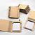 Folding wood booklets
