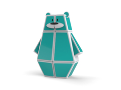 Ozo 1x2x3 Puzzle Bear