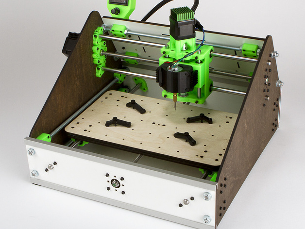 3d Printed Amp Laser Cut Lil Cnc Mill Acv2 By Alexcphoto