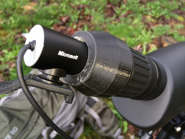 Spotting Scope Adapter For Iphone