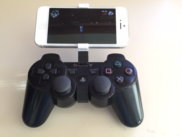 control ps3 with iphone ps3 controller iphone clip iphone 5 5s by loozc 9960