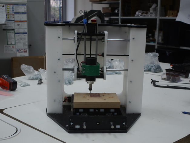 123mill Diy Cnc Desktop Milling Machine By Dimrobotics