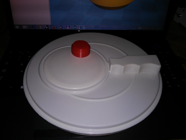 ikea salad spinner handle old model by pasqal thingiverse. Black Bedroom Furniture Sets. Home Design Ideas