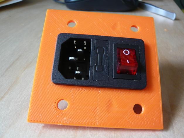 Mendelmax Iec320 Power Panel By Vastempty
