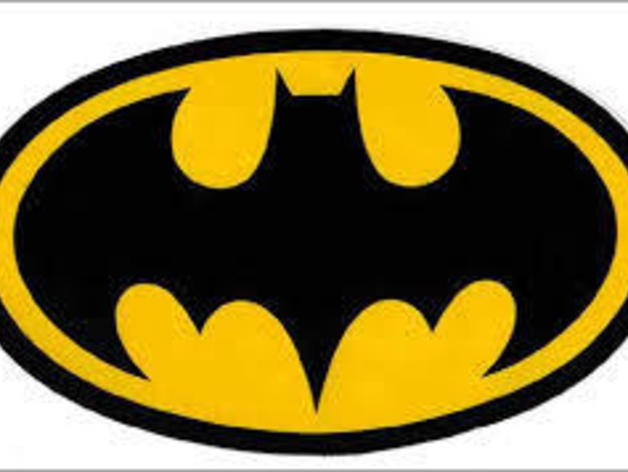 Batman Symbol By Cserrano2119 Thingiverse