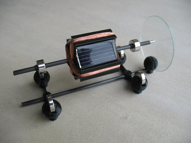Tiny Mendocino Solar Motor By Aeropic Thingiverse