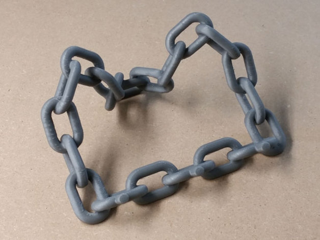 Chain Link Tablet Stand