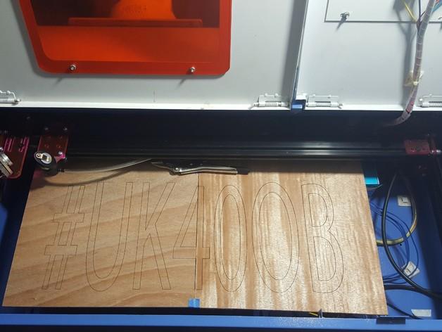 Uk40ob Ultimate K40 Laser Cutter Upgrade By Cojarbi