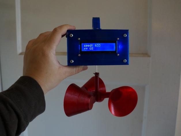 Wind Seeded Random Number Generator