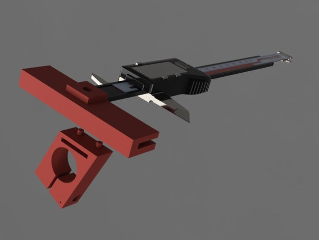 Bracket for Attachment of Caliper to Mini Lathe Tailstock by MakerMarc - Thingiverse Bracket for Attachment of Caliper to Mini Lathe Tailstock by MakerMarc - 웹
