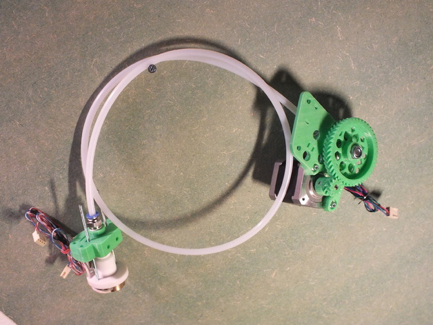 Rich's Bowden Geared Extruder for 3mm filament