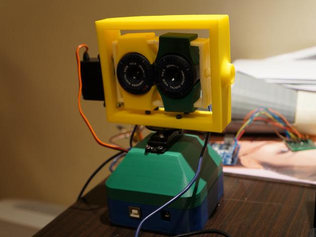stereo camera gimbal