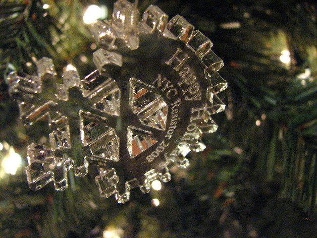 NYCR Holiday Ornament