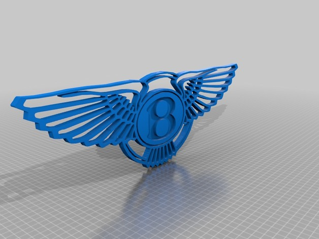 Bentley Logo By Cuty13 Thingiverse